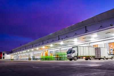 Commercial Pest Control Warehouse Exterior Las Vegas
